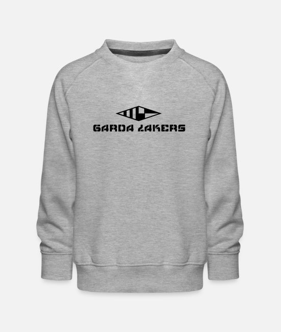 Sail Boat Hoodies & Sweatshirts - Garda Lakers logo - Kids' Premium Sweatshirt heather grey