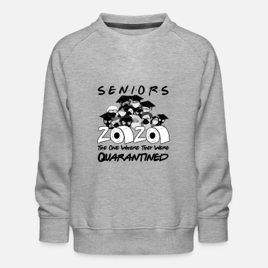 High School Graduate Funny high school graduation 2020 high school graduates - Kids' Premium Sweatshirt