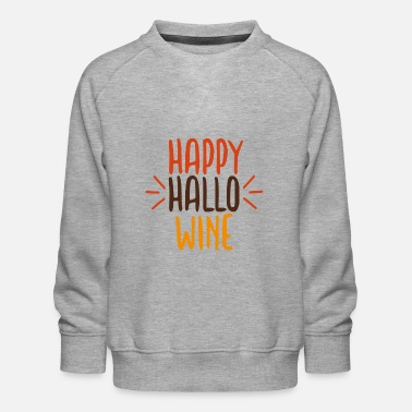 Pumpkin Happy Halloween - Kids' Premium Sweatshirt