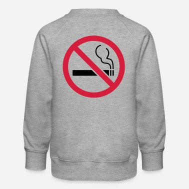 Smoking No smoking No smoking - Kids' Premium Sweatshirt