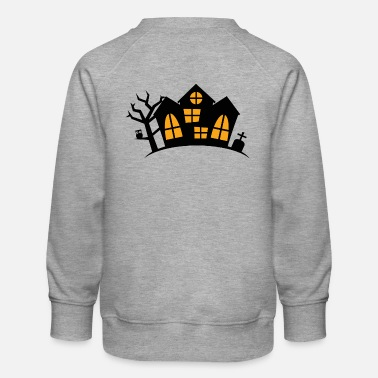 House Haunted House - Lasten premium-collegepaita
