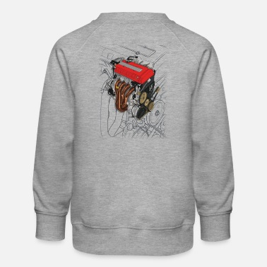 Touge B16 Engine - Kids' Premium Sweatshirt