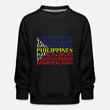 Asia Philippines Pinoy - Kids' Premium Sweatshirt