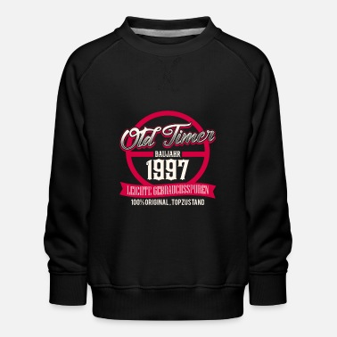 Production Year Vintage - year of production 1997 - top condition - Kids' Premium Sweatshirt