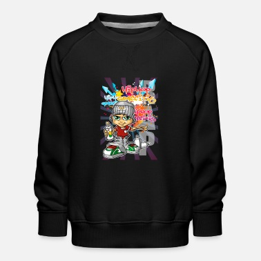 Graffiti boy - Kids' Premium Sweatshirt