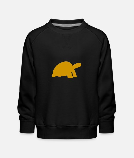Water Hoodies & Sweatshirts - Real Sea Turtle - Kids' Premium Sweatshirt black