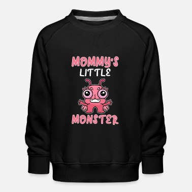 Witchcraft Mommy's Little Monster Halloween Mom Kid Children - Kids' Premium Sweatshirt