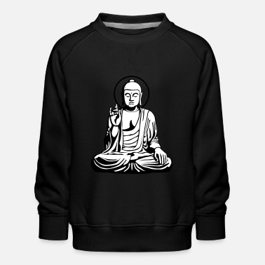 India Goa Trance Young Buddha No.1_2c - Kinder Premium Pullover