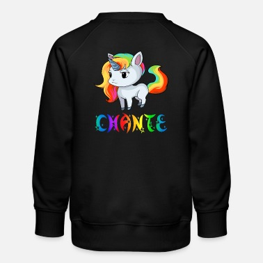 Chant Unicorn Chante - Kids' Premium Sweatshirt