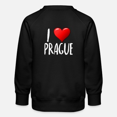 I Love Prague - Kids' Premium Sweatshirt