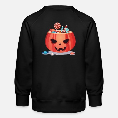 Happy Halloween Pumpkin - Kids' Premium Sweatshirt