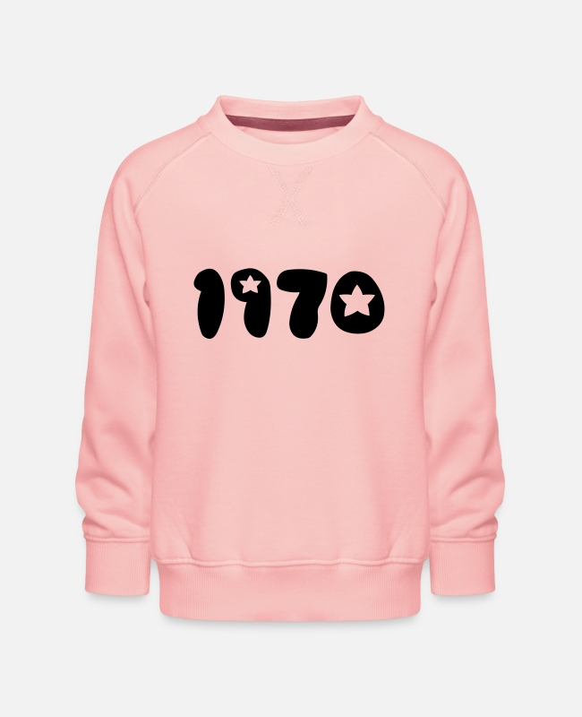 Pop Hoodies & Sweatshirts - 1970 - Kids' Premium Sweatshirt crystal pink