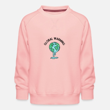 Global Global Warming - Sweat ras-du-cou Premium Enfant