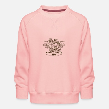 Wingshooter setter_flushing_woodcock_light - Kids' Premium Sweatshirt