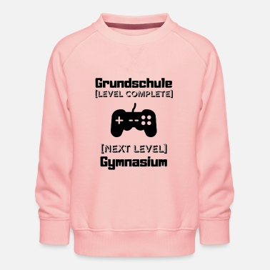 Junior High School change of school elementary school gymnasium junior high school haup - Kids' Premium Sweatshirt
