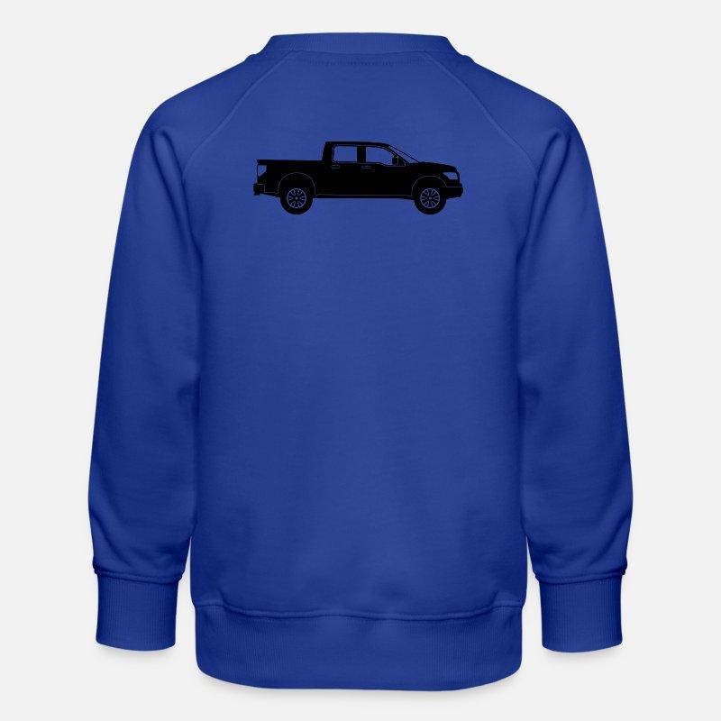 Pickup lastebil Premium genser for barn | Spreadshirt