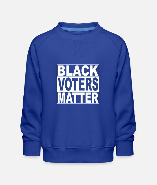 USA Pullover & Hoodies - Black Voters Matter USA 2020 Black Lives Matter - Kinder Premium Pullover Royalblau