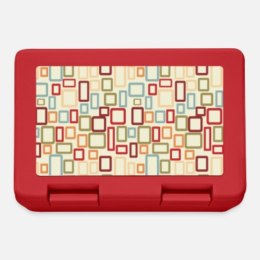 Pattern lunch box, coaster - Lunchbox