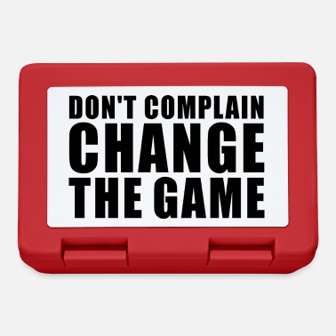 Fight DON'T COMPLAIN CHANGE THE GAME GIFT MINDSET - Lunchbox