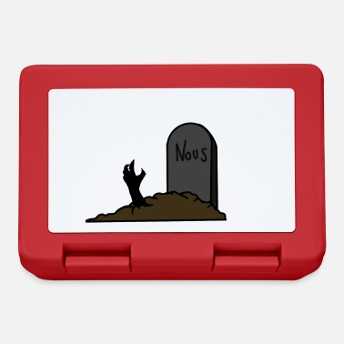 Grave Grave with zombie hand - Lunchbox