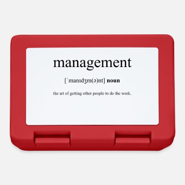 Manager Management (Management) - Lunchbox