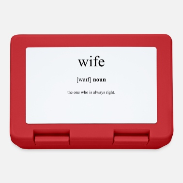 Wife Wife (wife) - Lunchbox