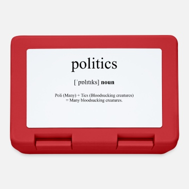 Politics Politics - Lunchbox