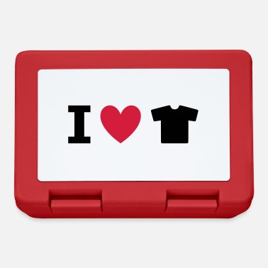 Fashion Underwear ★ Design colors changeable ★ I love t-shirts - Lunchbox