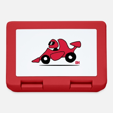 Coche Race car - Lunchbox