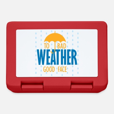 Playing With Words At bad times, good face - Lunchbox