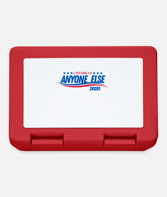 Usa Lunchboxes - Literally Anyone Else - Presidential Election 2020 - Lunchbox red