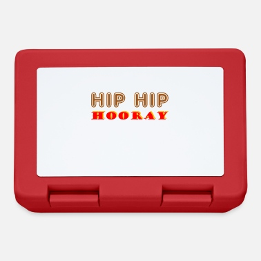 Hip Hip Hip Hooray - Lunchbox