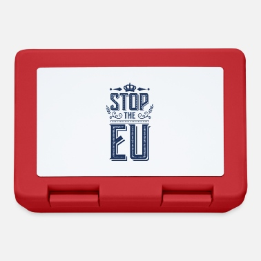 Eu Stop the EU - Lunchbox