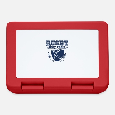 Rugby Pallone da rugby rugby rugby giocatore rugby rugby - Lunch box