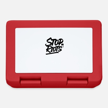 Rioting Stop riots - Lunchbox