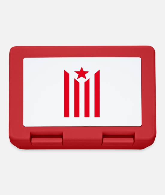 Catalonia Lunchboxes - Estelada - Lunchbox red