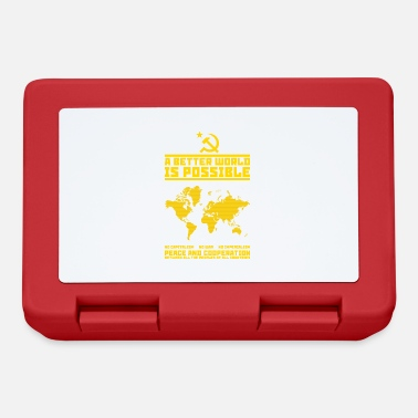 Comunista A better (communist) world - Lunch box