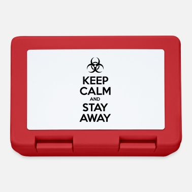 KEEP CALM AND STAY AWAY - Lunchbox