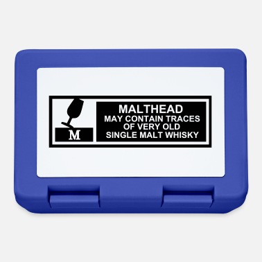 Malt Malt Head Warning - Lunchbox
