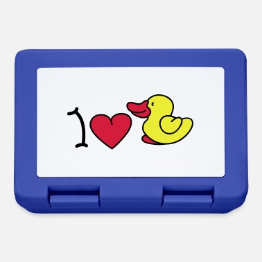 Iheart I love ducks - Madkasse