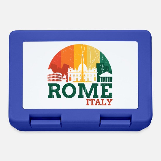 Birthday Lunchboxes - Rome Italy - Design - Lunchbox royal blue