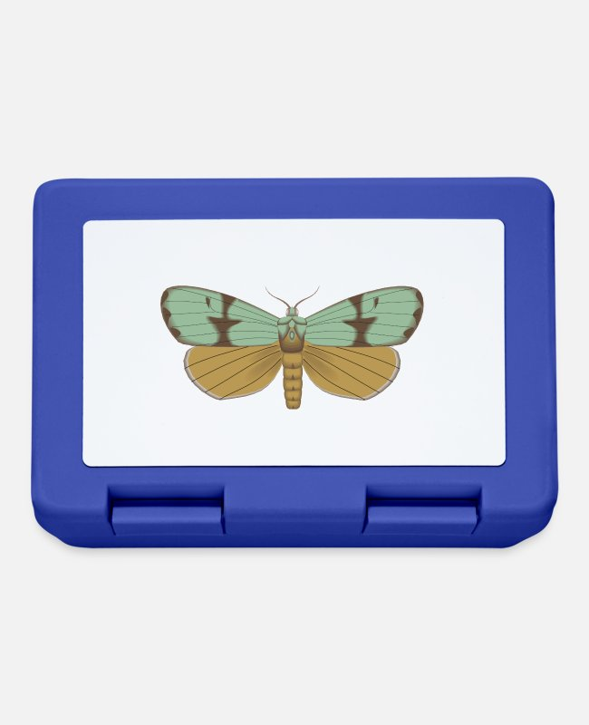 Garden Lunchboxes - Butterfly 115 - Lunchbox royal blue