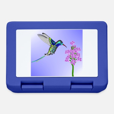 Crittercontest crittercontest Colorful Hummingbird - Lunchbox