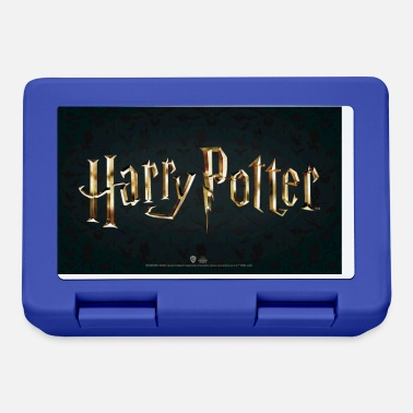 Harry Potter Logo Movie Gold - Madkasse