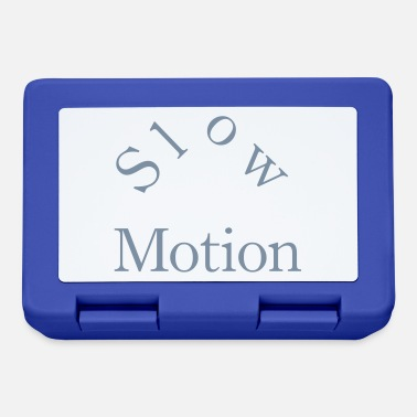 Motion slow motion - Lunchbox