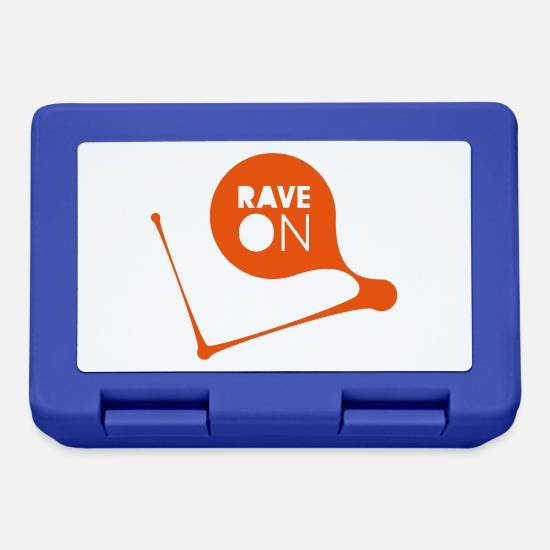 Rave Lunchboxes - RAVE ON - Lunchbox royal blue
