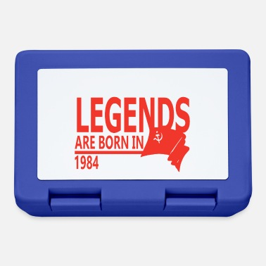 1984 Legends are Born in 1984 gift idea - Lunchbox