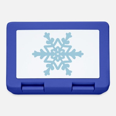 Snowflake / Snowcrystal winter design - Lunchbox