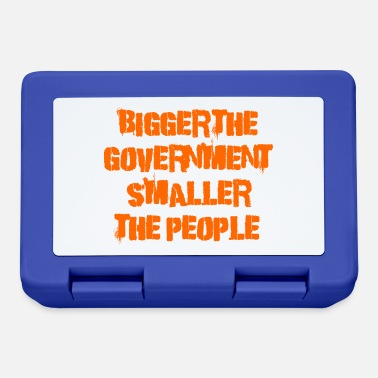 Government Bigger the government - Lunchbox