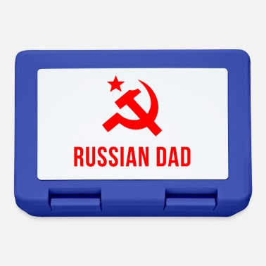 Russian russian dad russian father - Lunchbox